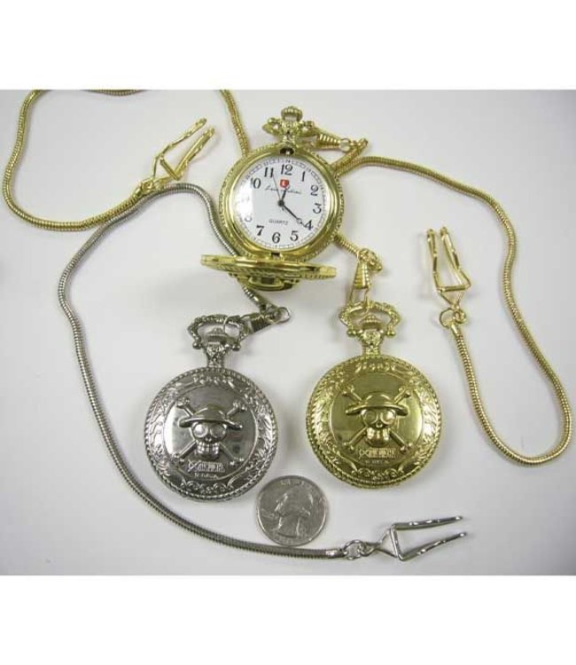 Pocket Watch Pirate  - Silver