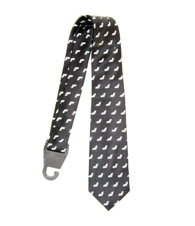 Necktie Bats on a Black by american passion
