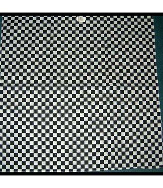 Bandana Checkerboard Black and White