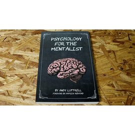 Patrick G. Redford Psychology for the Mentalist by Andy Luttrell