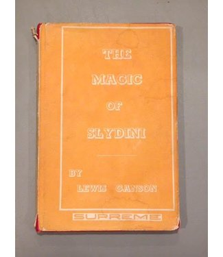 Book - USED The Magic Of Slydini by Lewis Ganson (M7)