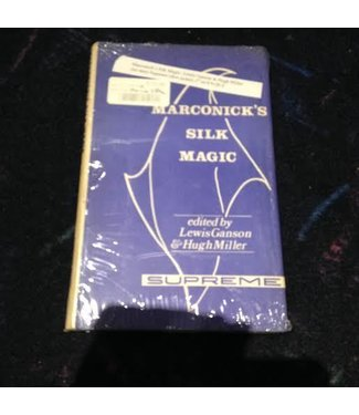 Book - USED Marconick's Silk Magic by Lewis Ganson and Hugh Miller (M7)