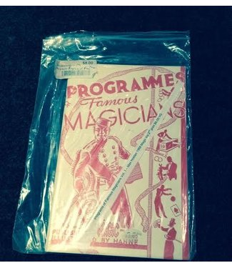 USED Book Programs of Famous Magicians Vol. 1 - Max Holden 1968 Magic Inc 2nd print VG - Book (M7)