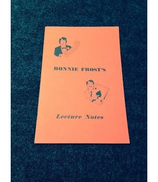 USED Ronnie Frost Lecture Notes by Ron Frost - Book VG (M7)