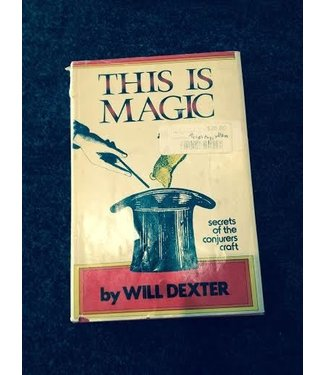 Rare Books This Is Magic by Will Dexter 1958 Bell (dust jacket) VG (M7)