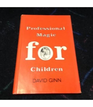 Book - USED Professional Magic For Children by David Ginn (M7)