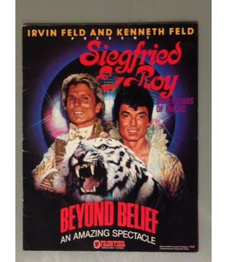 USED Siegfried and Roy Beyond Belief - Show Program