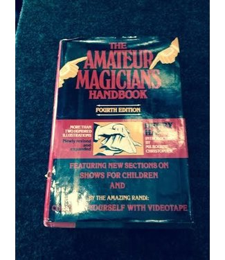 USED The Amateur Magician's Handbook by Henry Hay - Book From Harper And Row (M7)