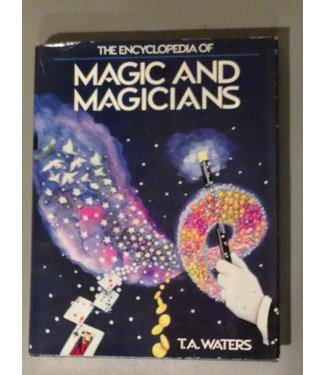 Book - USED The Encyclopedia of Magic and Magicians by T.A. Waters (M7)