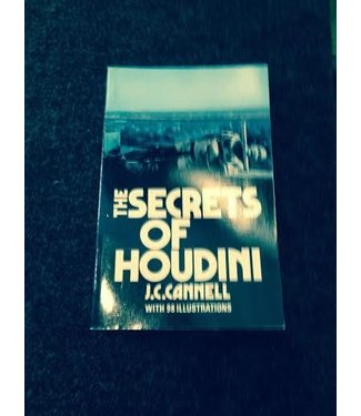 USED The Secrets Of Houdini by J.C. Cannell  and Dover Publications and BTC - Book  (M7)