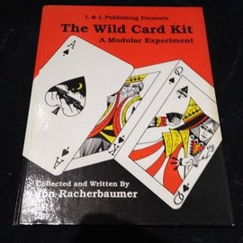 Book - USED The Wild Card Kit  A Modular Experiment by Jon Racherbaumer from L and L Publishing(M7)