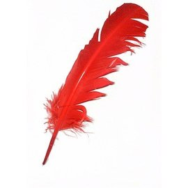 Indian Feather Red