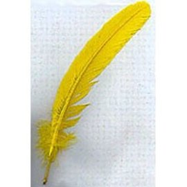 Indian Feather Yellow