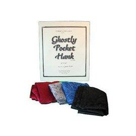 Silk - Ghostly Pocket Hank, Black by Lynetta Welch and Fabric Manipulation (M10)