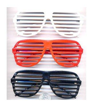 Aviator Blinds Sunglasses Red