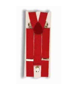 Forum Novelties Suspenders Wide - Red