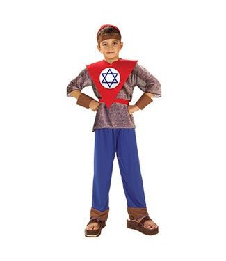 Forum Novelties Magen David - Purim - Jewish Hero Corps Chld Med