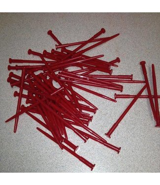 Plastic Nails for  Hell Raiser Pin Head - 60 Pack (414)