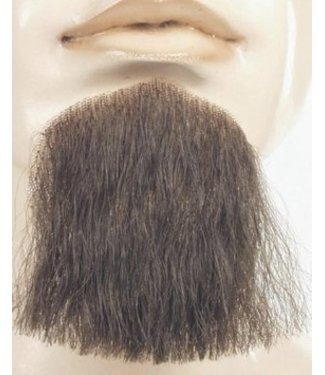 Morris Costumes and Lacey Fashions 1 Point Beard Goatee Med Brown - Human Hair