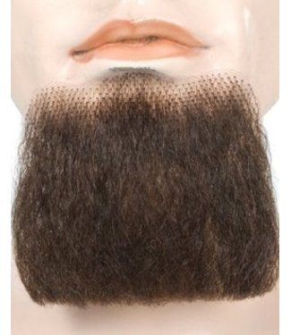 Morris Costumes and Lacey Fashions 3 Point Beard Brown 6 - Human Hair