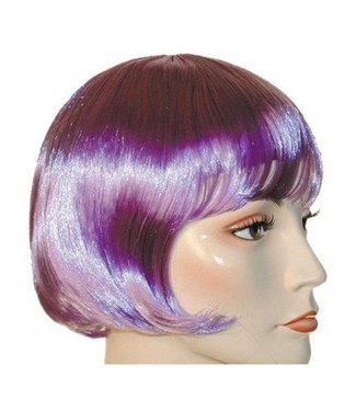 Morris Costumes and Lacey Fashions Lulu Bargain Lt. Purple Wig