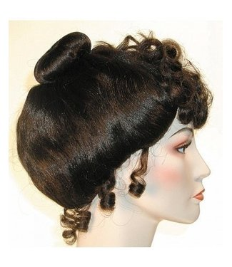 Morris Costumes and Lacey Fashions Gibson Girl Deluxe - Brown Wig