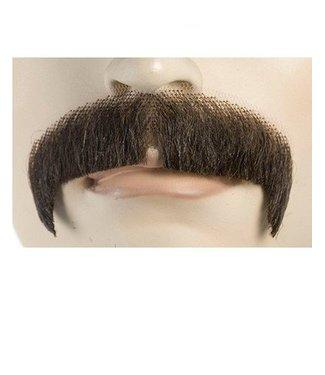 Morris Costumes and Lacey Fashions Moustache M1 - Villain, Black Human Hair