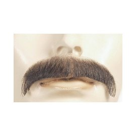 Morris Costumes and Lacey Fashions Moustache - Villain, White