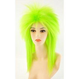 Morris Costumes Punk Fright, Green - Wig