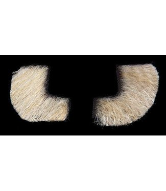 Morris Costumes and Lacey Fashions Sideburns - Synthetic, Blonde