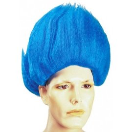 Morris Costumes and Lacey Fashions Thing Blue Wig