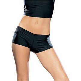 Leg Avenue Seamless Boyshorts Black