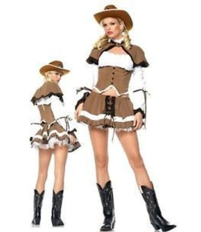 Leg Avenue Cowgirl Sheriff - Leg Avenue xs