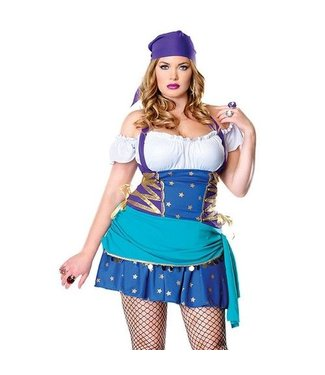 Leg Avenue Gypsy Princess -Plus Size - Leg Avenue 1x/2x