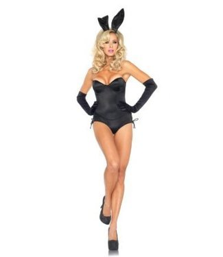 Leg Avenue Sexy Bunny (Black) - Leg Avenue Large