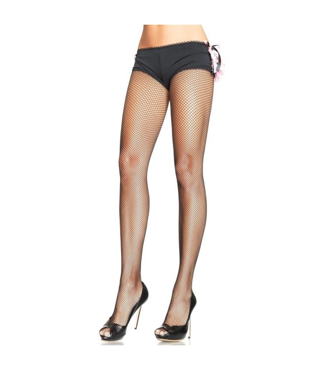 Leg Avenue Spandex Fishnet Pantyhose - Black by Leg Avenue (397)