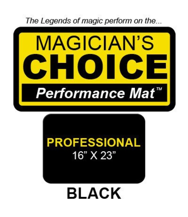 Ronjo Performance Mat Professional Black