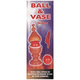 Ball And Vase, Wooden - Deluxe by Magic Goods