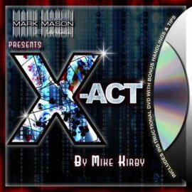 X-Act by Mike Kirby - Card- From Mark Mason (M10)