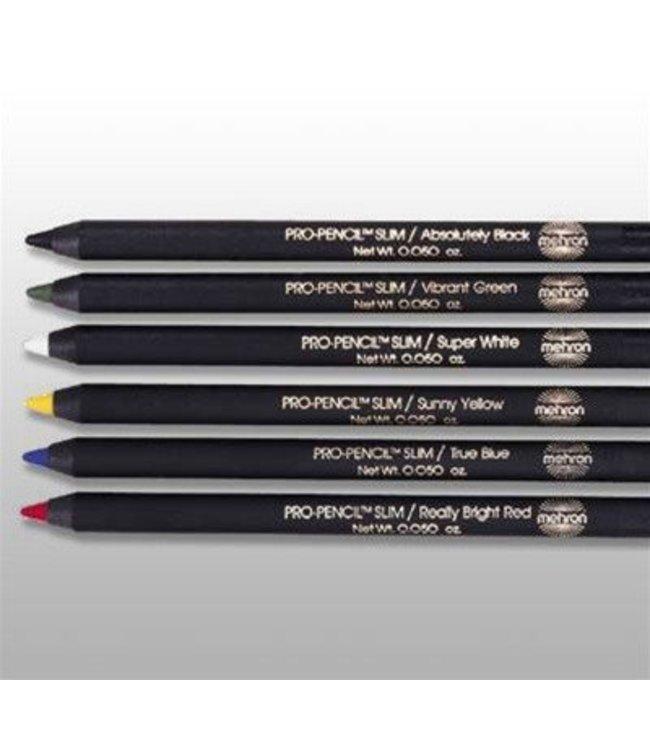Mehron Pro Pencil Slim - Really Bright Red