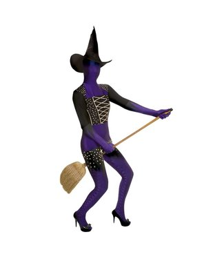 Morphsuits Purple Witch Morphsuit Medium