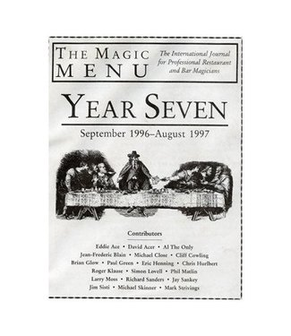Book - The Magic Menu: Year 7 (M7)