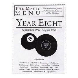 Book - The Magic Menu: Year 8 (M7)