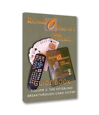 Book - Mind Mysteries Guide Book Vol. 2: The  Breakthrough Card System by Richard Osterlind (M7)