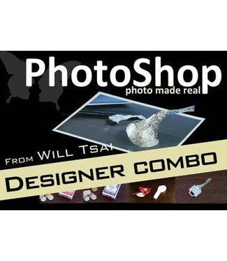 PhotoShop Designer Combo Pack with Gimmicks by Will Tsai and SansMinds Creative Lab