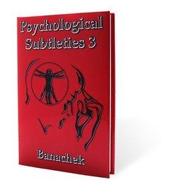 Psychological Subtleties 3 (PS3) by Banachek (M7)