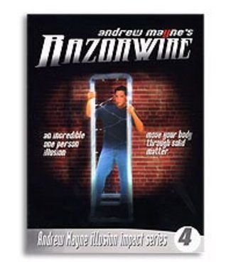 Book Razor Wire by Andrew Mayne and Weird Things (M7)