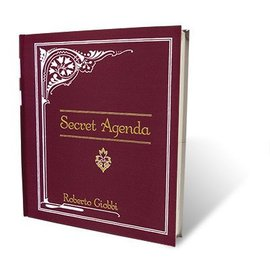 Book - Secret Agenda by Roberto Giobbi and Hermetic Press (M7)
