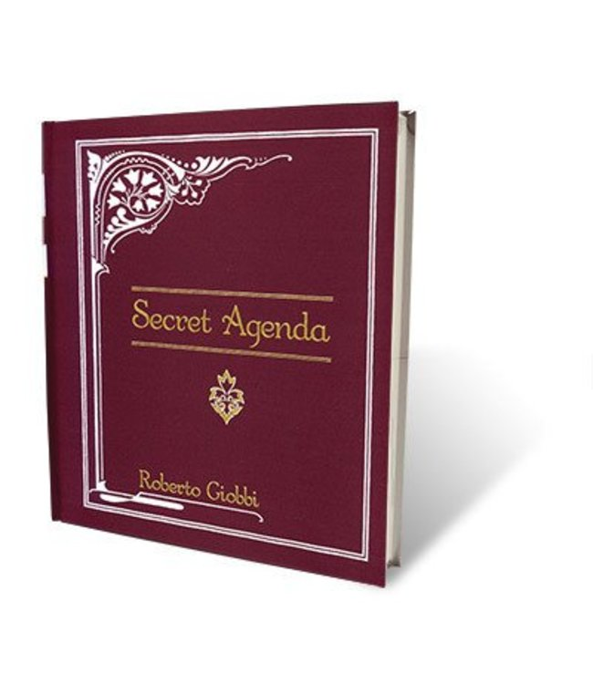 Book - Secret Agenda by Roberto Giobbi and Hermetic Press (M7)