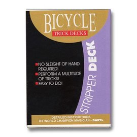 Stripper Deck Bicycle - Red (m12)